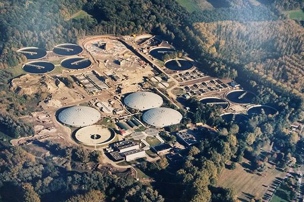 Effluentbeluchting RWZI Eindhoven – waterschapsbedrijf De Dommel | RWB Almelo
